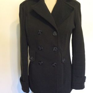 JOUJOU Double Breasted Pea Coat Pre-owned